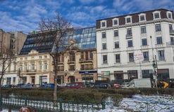 Bucharest in winter Stock Photo