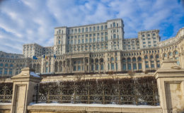 Bucharest in winter Stock Photo