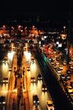 Bucharest życie nocne Obrazy Royalty Free