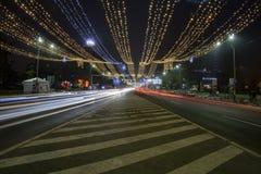 Bucharest życie nocne Zdjęcie Stock