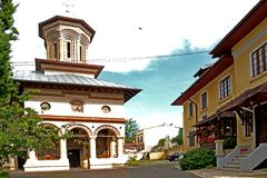 Bucharests kyrka Royaltyfria Foton