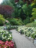 Buchart Gardens Victoria BC Stock Photography