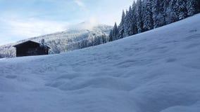 Buchberg. Snow austria bischofshofen autumn Stock Image