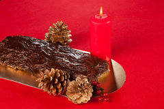 Buche de Noel Royalty Free Stock Photos
