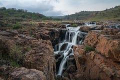 Buche di fortuna del ` s di Bourke, riserva naturale del canyon del fiume di Blyde, Moremela, Mpumalanga, Sudafrica, Africa fotografie stock libere da diritti