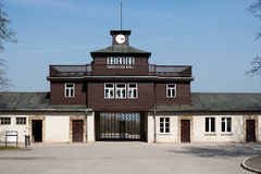 Buchenwald Camp Gate Royalty Free Stock Photos