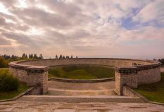 Buchenwald commémoratif Image libre de droits