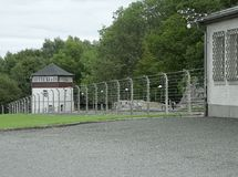 Buchenwald concentration camp Stock Images