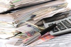 Buchhaltung. lizenzfreies stockfoto