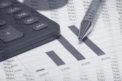 Buchhaltung Stockfotos