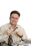 Buchhaltung-Serie - Frustration Lizenzfreie Stockfotos
