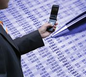 Buchhaltung und Technologie Lizenzfreies Stockbild