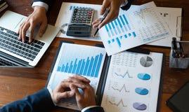 Buchhaltungs-Berater, Unternehmensberater-Financial Consultant Financial-Planungs-Planung stockfoto
