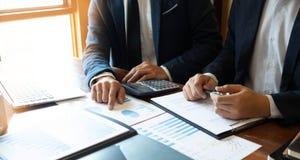 Buchhaltungs-Berater, Unternehmensberater-Financial Consultant Financial-Planungs-Planung lizenzfreie stockfotografie