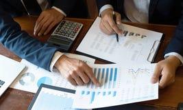 Buchhaltungs-Berater, Unternehmensberater-Financial Consultant Financial-Planungs-Planung stockbilder