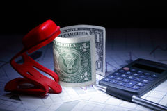 Buchhaltungs-Konzept Stockfoto