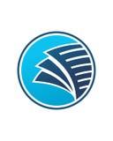 Buchhaltungsikonenknopf-Betriebsversicherungszusammenfassung lizenzfreie abbildung