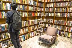 Buchladen Stockbild