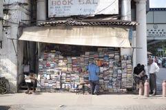 Buchladen in Delhi Stockbild