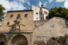 Buchlov城堡 免版税库存图片