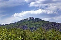 Buchlov - Castle. Landscape below the castle Buchlov - Czech Republic Stock Photos