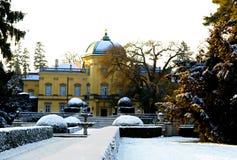 Buchlovice城堡捷克 库存图片