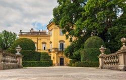 BUCHLOVICE, ЧЕХИЯ, 15-ОЕ ИЮЛЯ 2015: Замок Buchlovice Стоковые Изображения