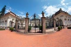 BUCHLOVICE, ЧЕХИЯ, 15-ОЕ ИЮЛЯ 2015: Замок Buchlovice Стоковая Фотография