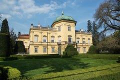 Buchlovice castle in Czech republic Stock Images