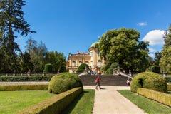 Buchlovice, République Tchèque, le 29 juillet 2017 : Château baroque Buchlovice, dont la construction a commencé avant 1700 Ouver Photo stock