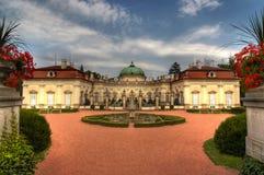 Buchlovice slott Fotografering för Bildbyråer