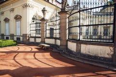 Buchlovicekasteel, Tsjechische republiek royalty-vrije stock afbeelding