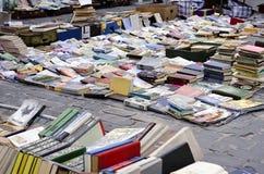 Buchmarkt im Freien Lizenzfreie Stockfotografie