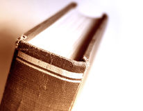 Buchnahaufnahme lizenzfreie stockbilder