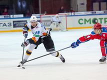 Buchnevich Pavel (89) fights on Royalty Free Stock Photo