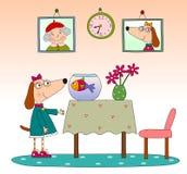 Buchseite der Kinder Stockbild