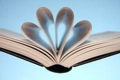 Buchseiten Stockbild