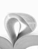 Buchseiten Lizenzfreies Stockbild