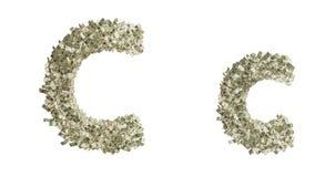 Buchstabe C stock abbildung