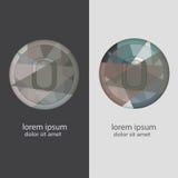 Buchstabe O mit mehrfachen Farbkombinationen Lizenzfreie Stockfotos
