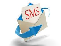 Buchstabe SMS (Beschneidungspfad eingeschlossen) Lizenzfreies Stockbild