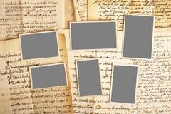 Buchstabe und Bilder Stockbilder