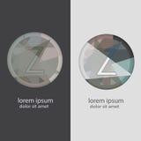 Buchstabe Z mit mehrfachen Farbkombinationen Stockfoto