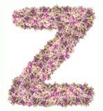 Buchstabealphabet mit Blume ABC-Konzeptart als Logo lizenzfreie stockbilder