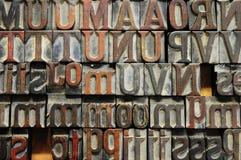 Buchstaben stockfotografie