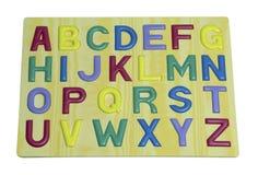 Buchstaben des englischen phabet Lizenzfreies Stockfoto