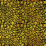 Buchstaben. Nahtloses Muster. Stockbild
