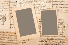 Buchstaben und Bilder Lizenzfreie Stockbilder