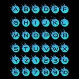 Buchstabenetz kreativ lizenzfreie abbildung
