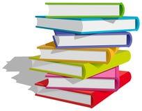 Buchstapel lizenzfreie abbildung